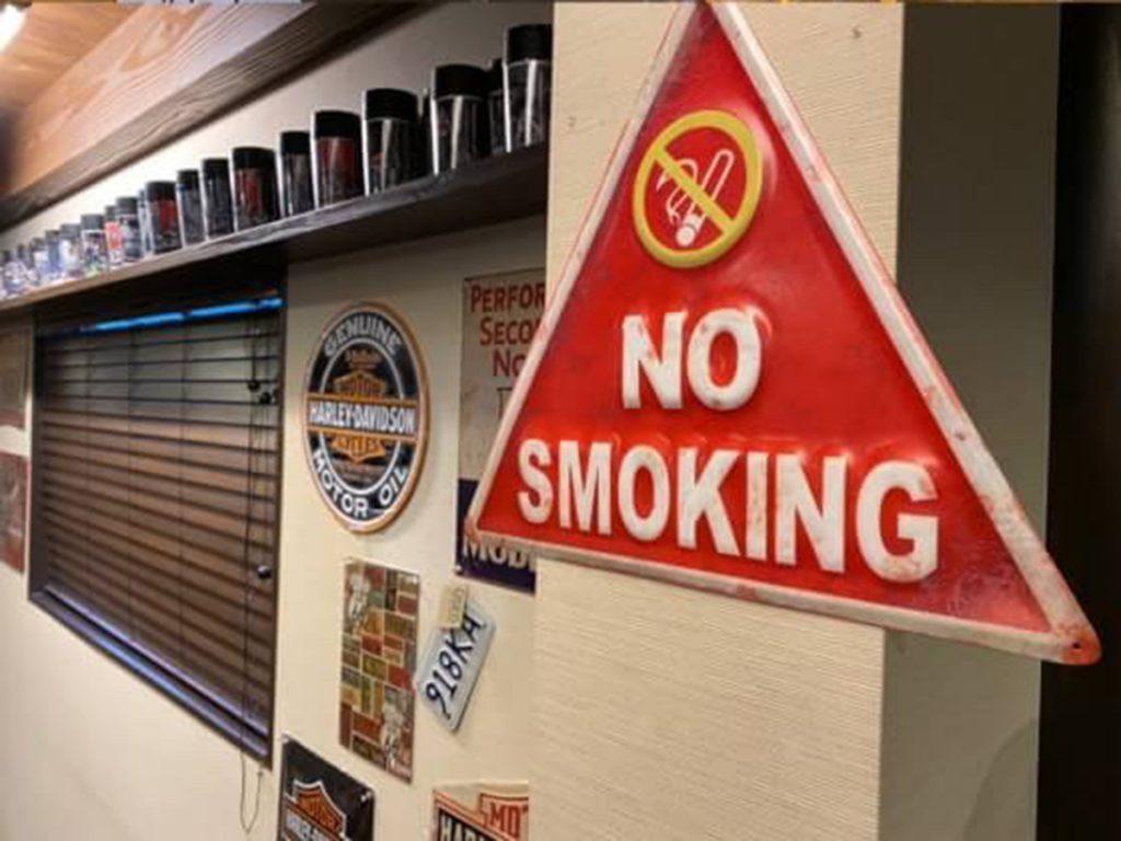 4月1日より店内の禁煙を実施します